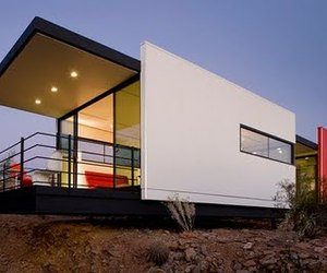 Sustainable Prefab Home by students at Taliesin West