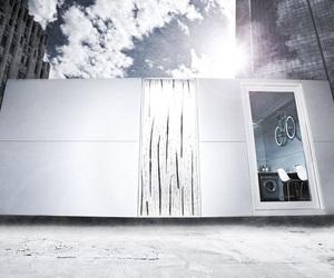 Sustainable Prefab House Called v100 Mod Box