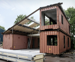 Sustainable WHF House from Recycled Materials