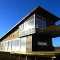 Sustainable Y-House in Chilean Coast by Plus Arquitectura