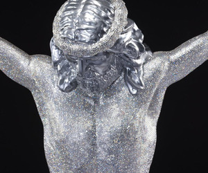 Swarovski Crystal Jesus Christ by Quinn Gregory