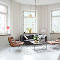 Swedish Apartment With Snazzy Scandinavian Charm!