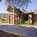Sweeping Interlocking Paver Driveway Graces Estate Home