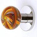 Sweet and Artistic Design Glass Doorknobs