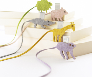 Sweet Animal Motif Bookmarks by Mai ONO