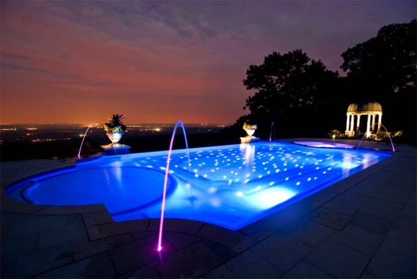 swimming pool landscaping by cipriano landscape design - Swimming Pool Landscape Designs