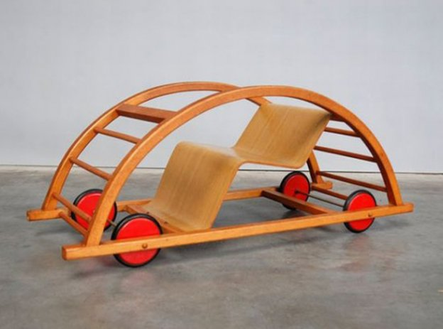 Wooden Car Furniture ~ Swing car