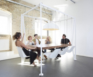 Swing Table by Christopher Duffy of Duffy London