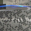 Swiss Cross Stainless Steel Tile