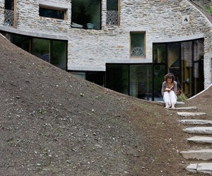 Swiss Mountain House by Search & Christian Muller Architects