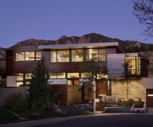 Syncline House near Boulder, Colorado by Arch11