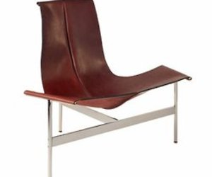 T leather sling series chairs