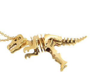 T-rex necklace by Monserat De Lucca
