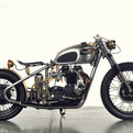 T120 Bonneville Motorcycle By Analog