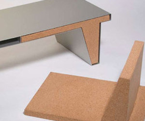 table/chairs by Nathan Martell