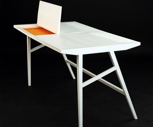 Tables with Storage for Laptops by Failli Rebwar