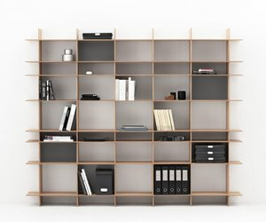 TACT shelving unit by Ernst&Jensen