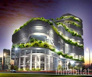 Taiwan's first zero-carbon energy saving building