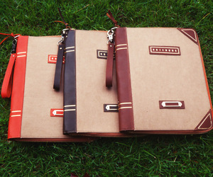 Take Notes: vintage notebook-inspired iPad sleeve