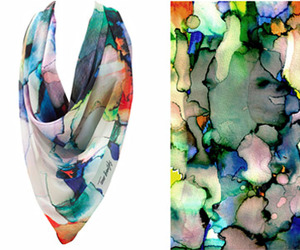 Tamar Branitzky | Stained Chiffon
