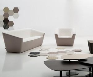 Tea Seating Sofa by José Manuel Ferrero