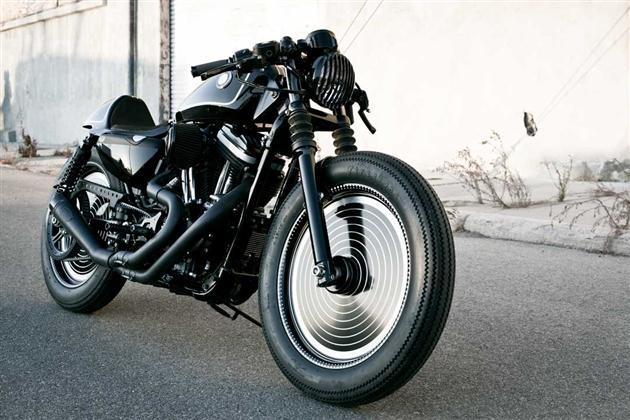 Technics X Harley Davidson Cafe Racer