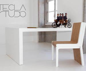 Tecla chair by Tecla Studio