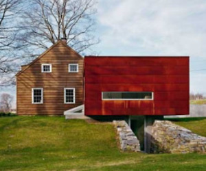 Ten Broeck Cottage by Messana O'Rorke Architects
