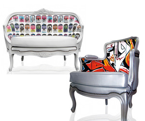 Teo Jasmin's Printed Furniture & Home Furnishings