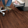Teragren Bamboo Portfolio flooring in Brown Sugar