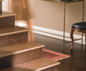 Teragren Bamboo stairs in Walnut and Espresso