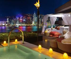 Terrace Suite Intercontinental Hotel Hong Kong
