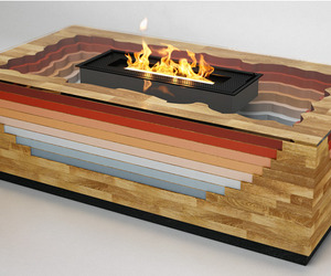 Terragen Fireplace