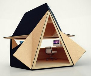 Tetra-Shed Prefab Office Space