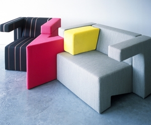 Tetris Inspired Seating from Studio Lawrence