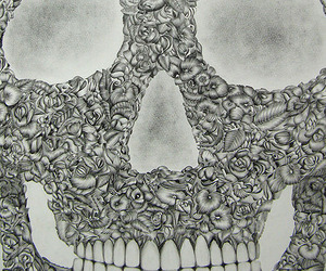The 100 hr/ 38 Day Skull Drawing