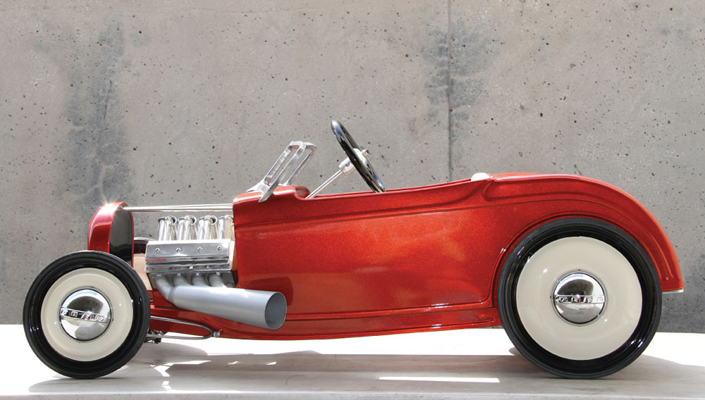 The 1932 Ford Hot Rod Is Remade On A Small Scale