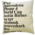 The 2010 Google Throw Pillow
