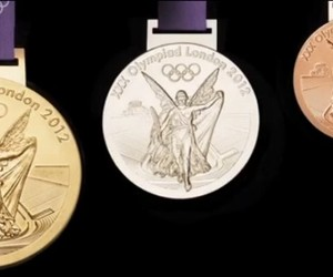 The 2012 Olympic Medals