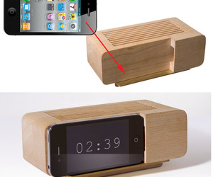 The Alarm Dock For The iPhone by Jonas Damon