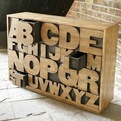 The Alphabets Chest Drawers