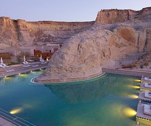 The Amangiri Resort in Southern Utah