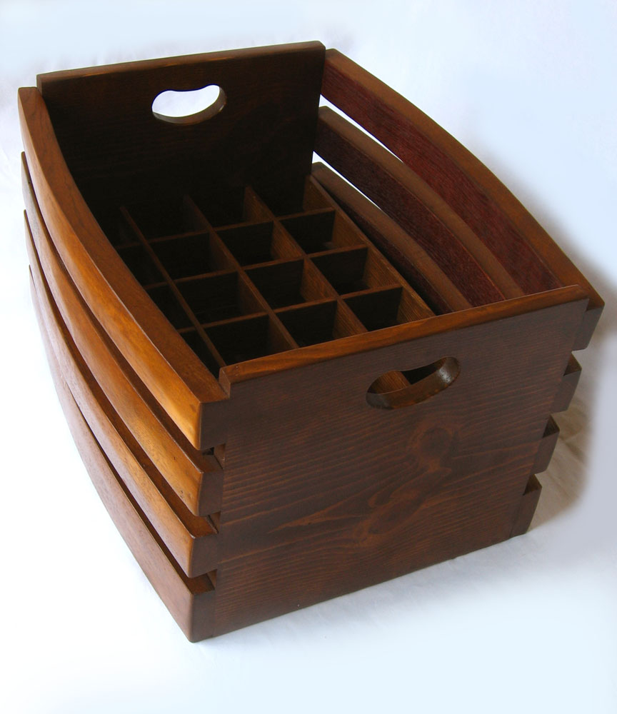 The Barrel Crate Recycled Oak Wine Staves