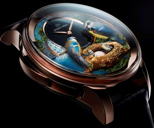 The Bird Repeater Timepiece by Jaquet Droz