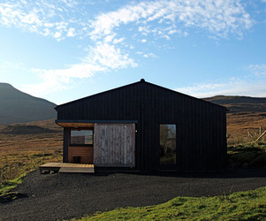 The Black Shed on the Isle of Skye