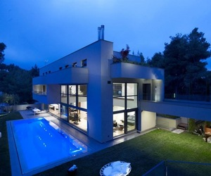 The Blue Residence in Greece
