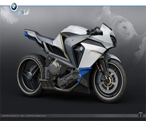 THE BMW GHOST GENERATION MOTORCYCLE INNOVATIVE