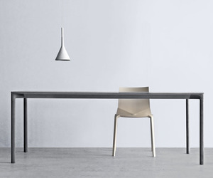 The Boiacca, Concrete Dining Table by LucidiPevere