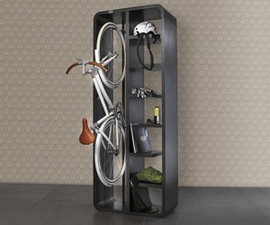 The Bookbike Unique Bicycle Storage System by BYografia