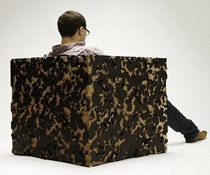 The Camouflage Armchair